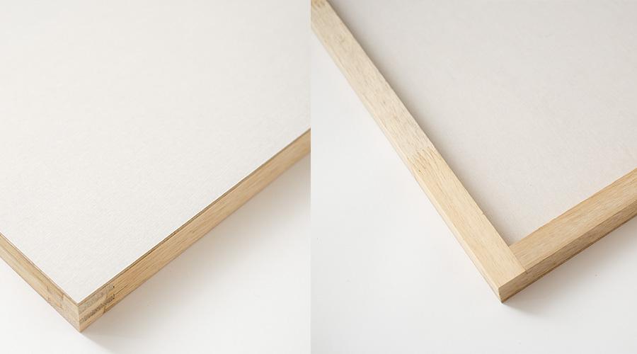 品質の良い木枠